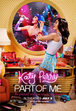 Poster do filme Katy Perry: Part of Me em 3D
